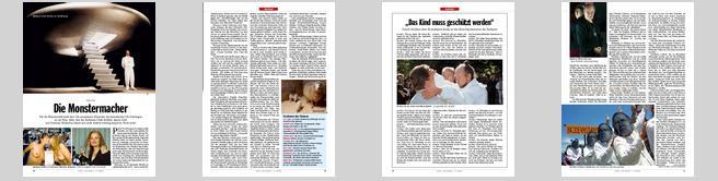 Sekten die monstermacher der spiegel 2 2003 for Der spiegel schlagzeilen