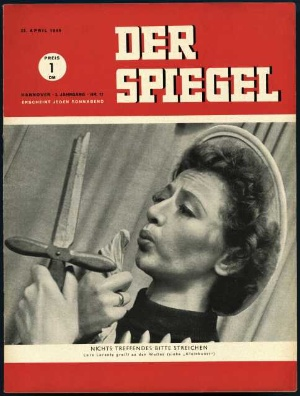 Der unb ndige trieb der spiegel 17 1949 for Der spiegel zeitung