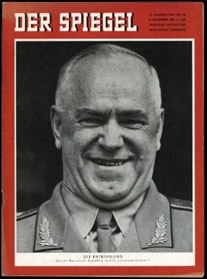 Rudolf iwanowitsch abel der spiegel 45 1957 for Spiegel heft