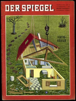wohnungsbau fertigh user traum von der stange der spiegel 16 1962. Black Bedroom Furniture Sets. Home Design Ideas