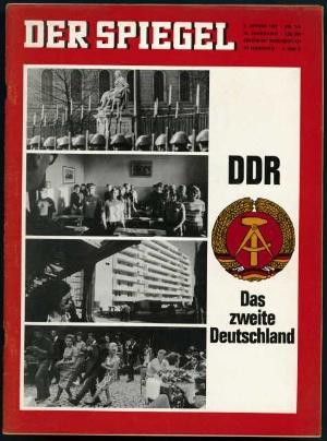 Ddr deutschland ii der fakt der spiegel 1 1967 for Der spiegel schlagzeilen
