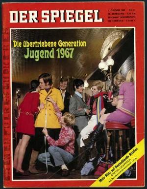 Der spiegel 41 1967 inhaltsverzeichnis for Der spiegel schlagzeilen