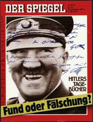 Hitler tageb cher ha ha da ich nicht lache der for Der spiegel bestellen