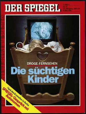 kinder am kabel endstation seh sucht der spiegel 19 1989. Black Bedroom Furniture Sets. Home Design Ideas