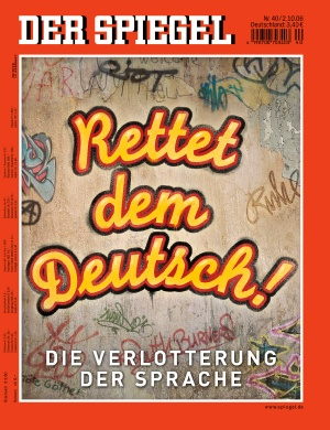 deutsch for sale der spiegel 40 2006