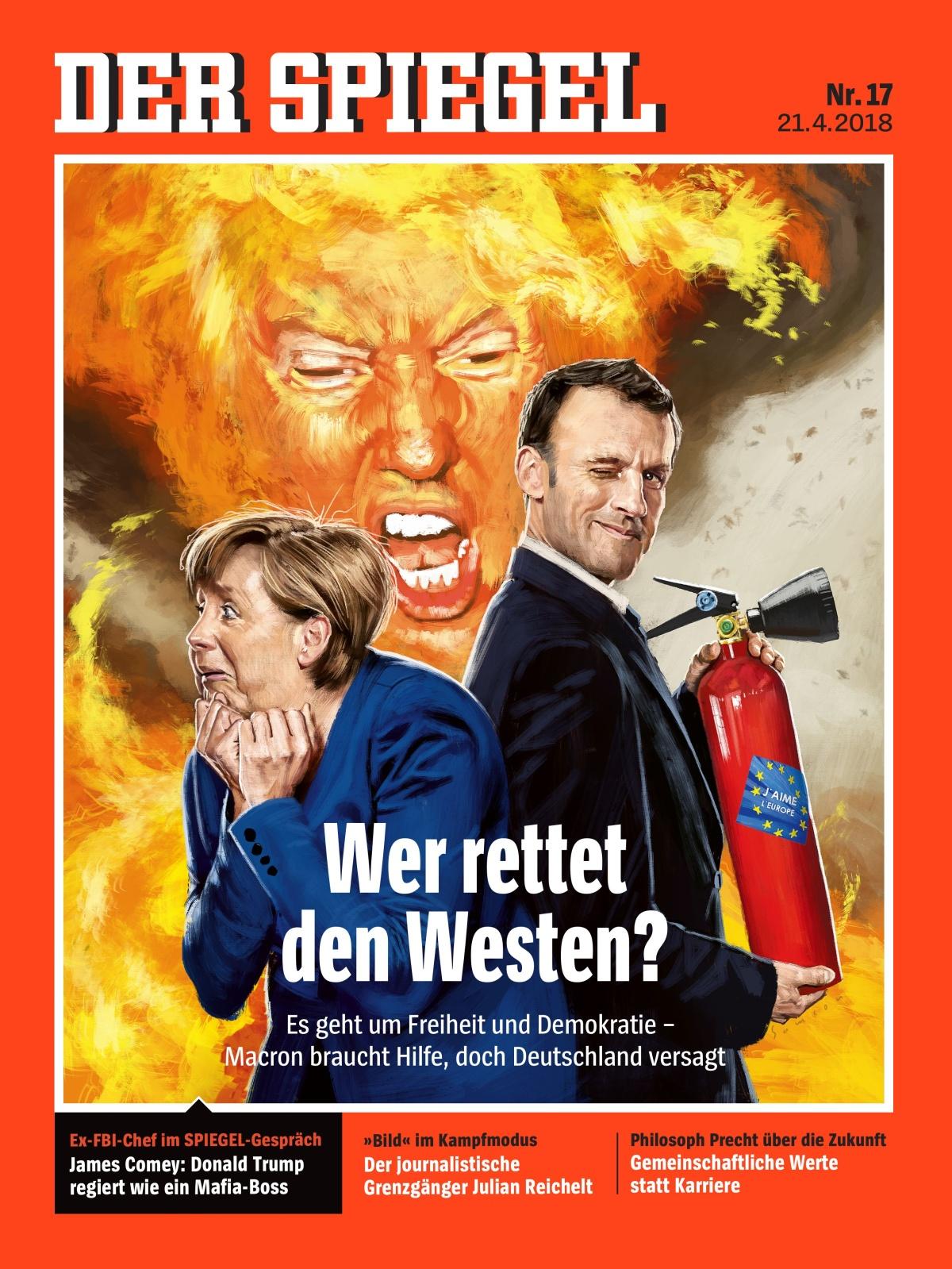 Propagandameldungen vom 21 april 2018 propaganda melder for Der spiegel redakteure