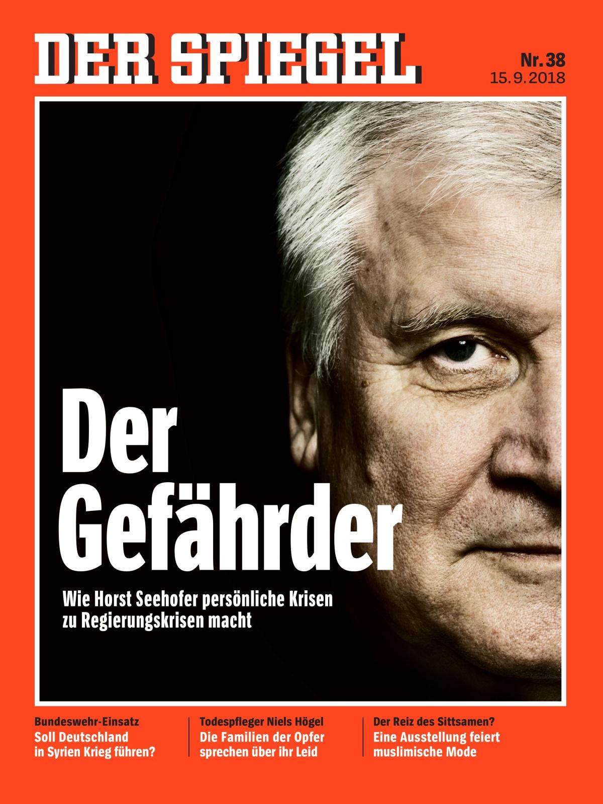 Irrlicht im ministerrang das befremdliche endspiel des for Der spiegel deutsche ausgabe