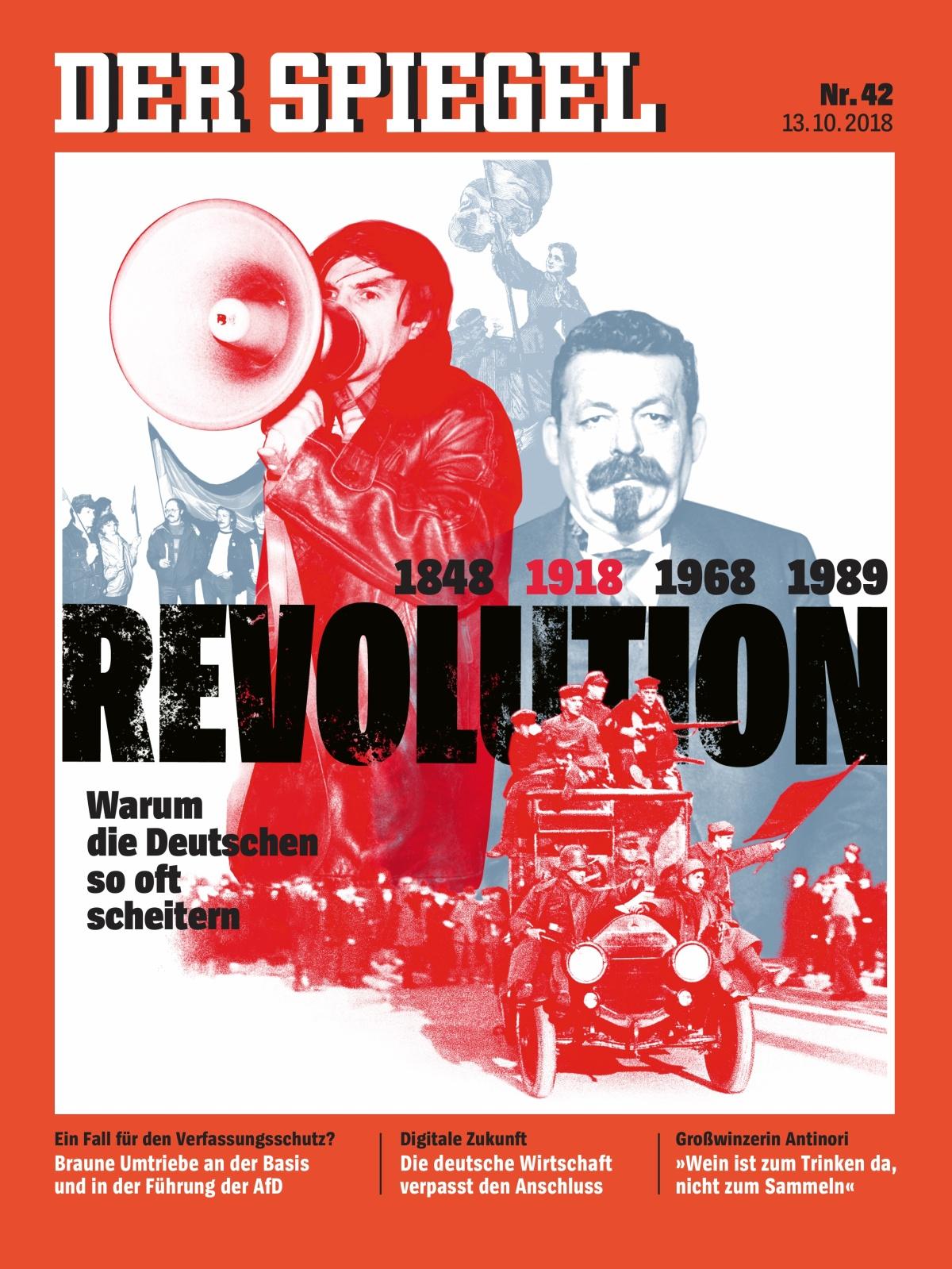 Die Revolutionen von 1848, 1918, 1968 und 1989 – was sie über uns Deutsche sagen