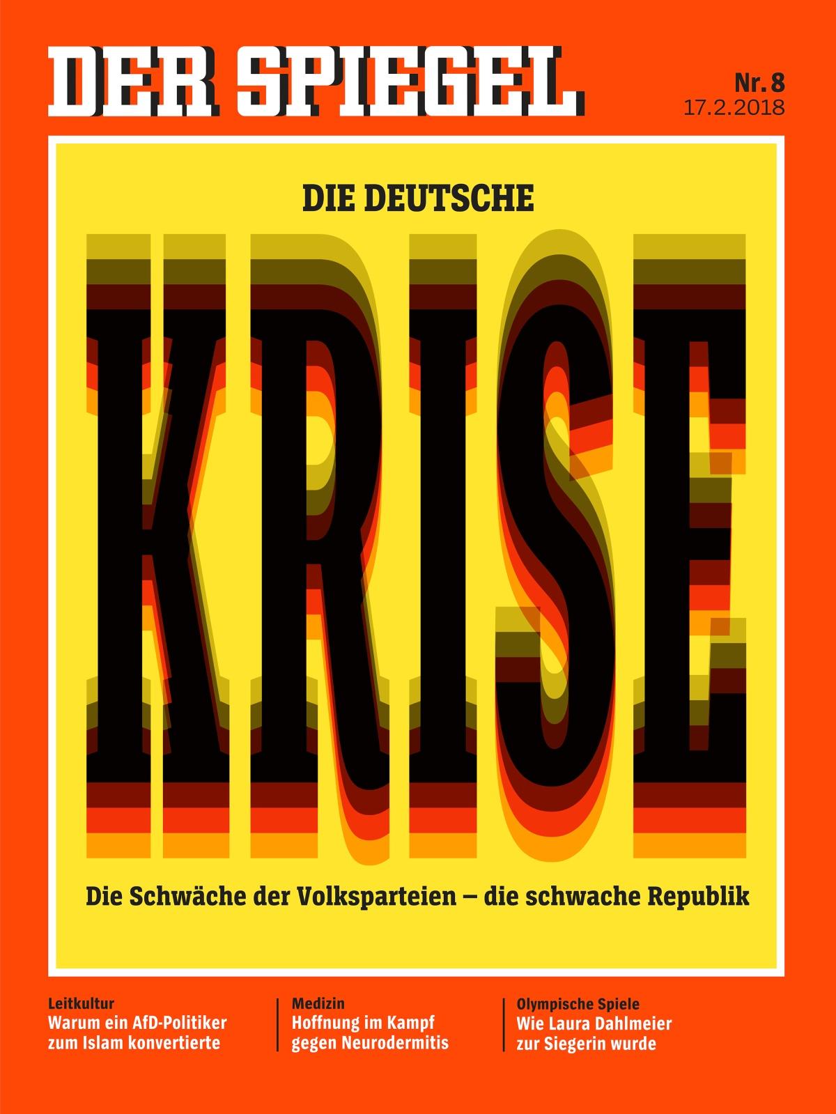 Der spiegel 2018 8 for Spiegel cover juni 2018
